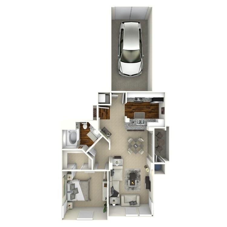 Floor plan image of Savio