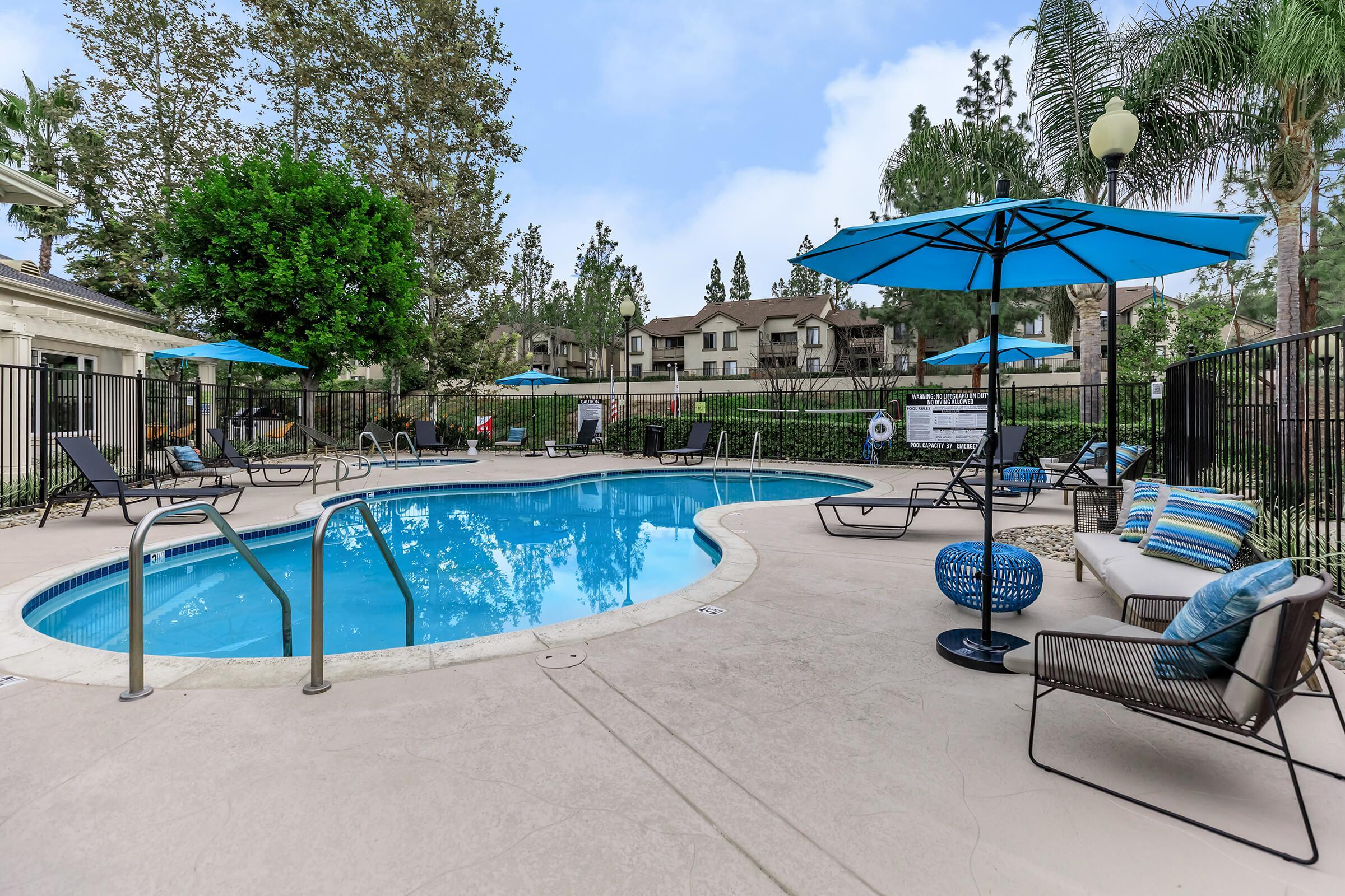 Bellecour Way Apartment Homes community pool
