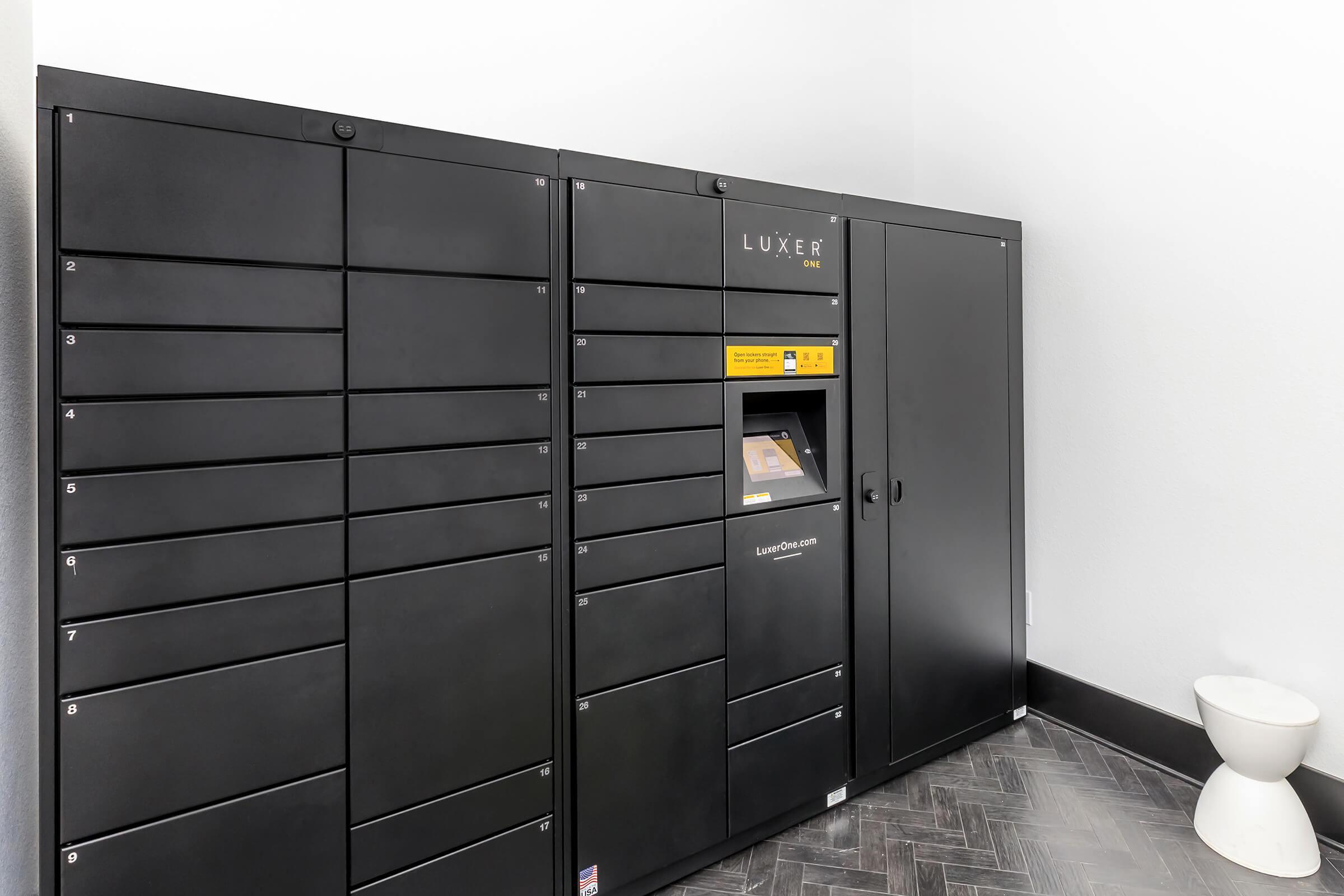 Luxer One lockboxes