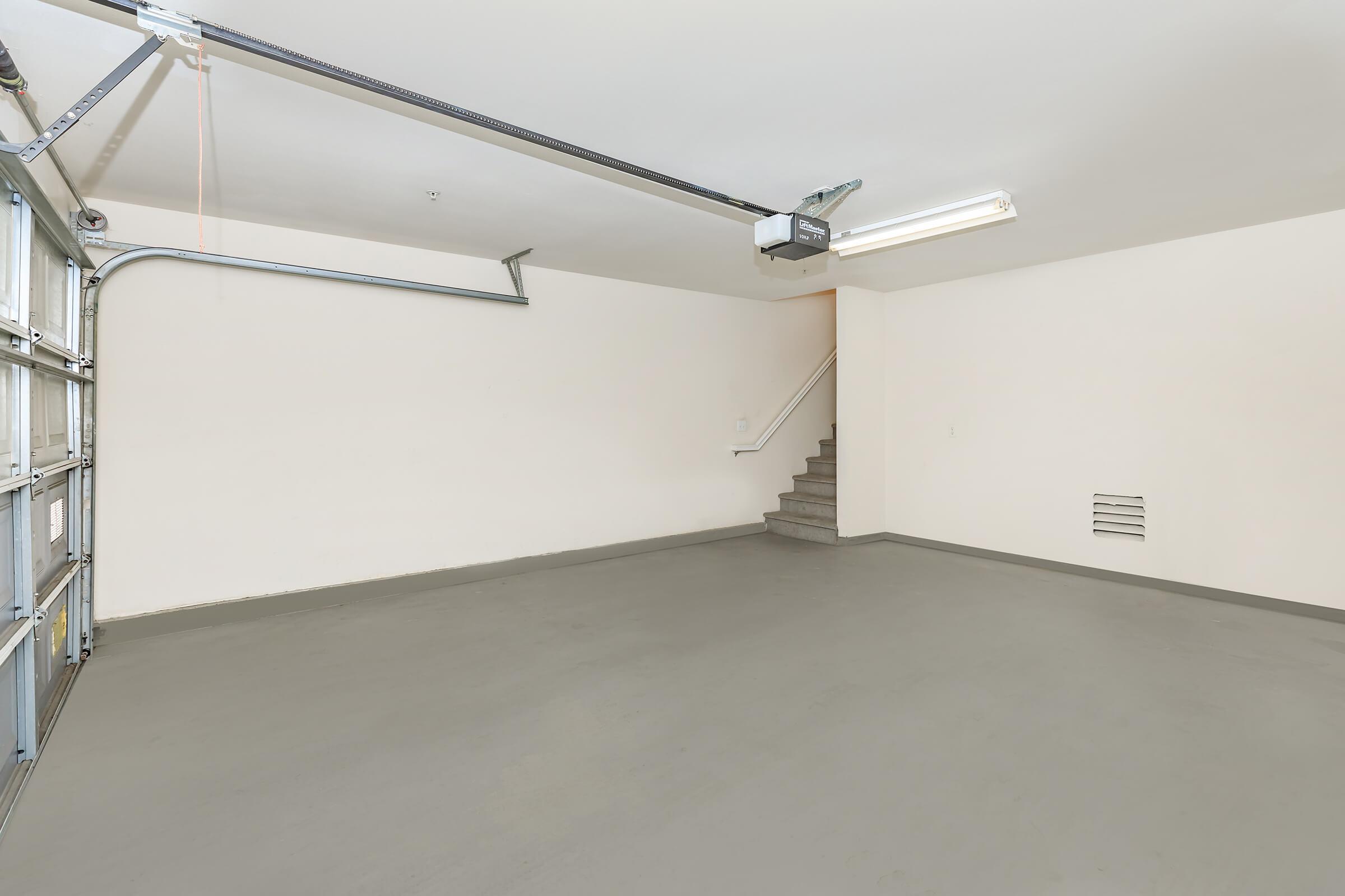 Vacant garage