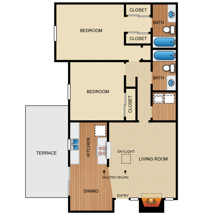 Floor plan image of The Avalon