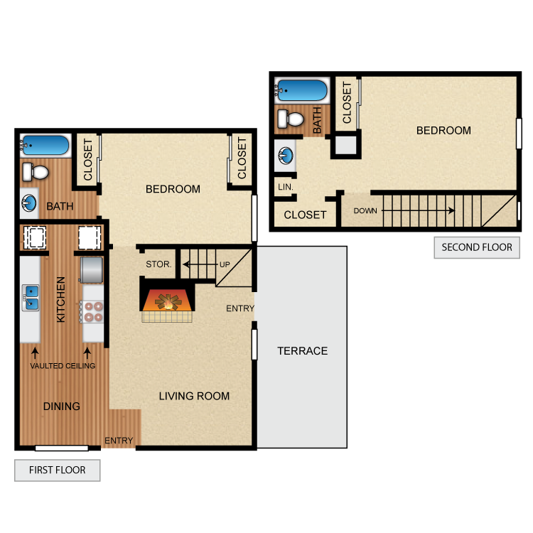 Floor plan image of The Cascade