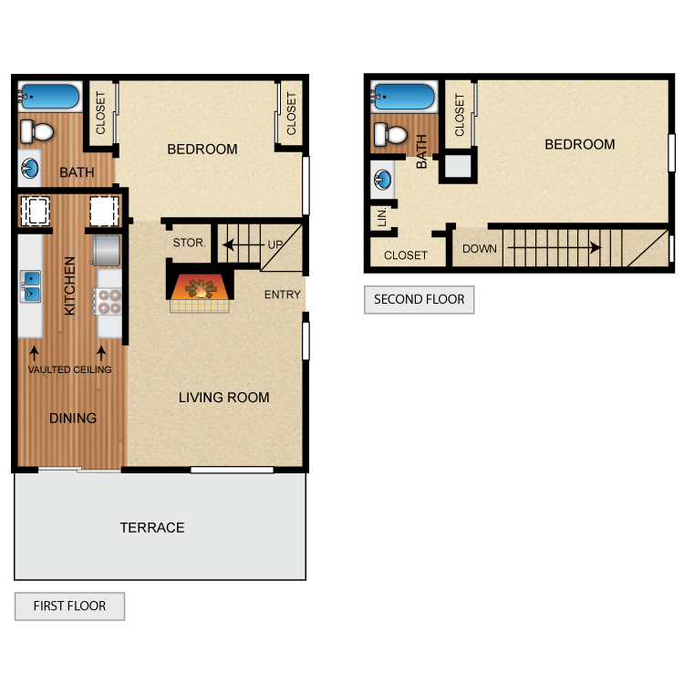 Floor plan image of The Highlander