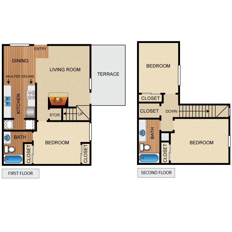Floor plan image of The Cresthaven