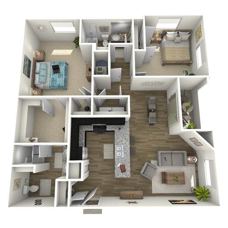 Floor plan image of Lavendar
