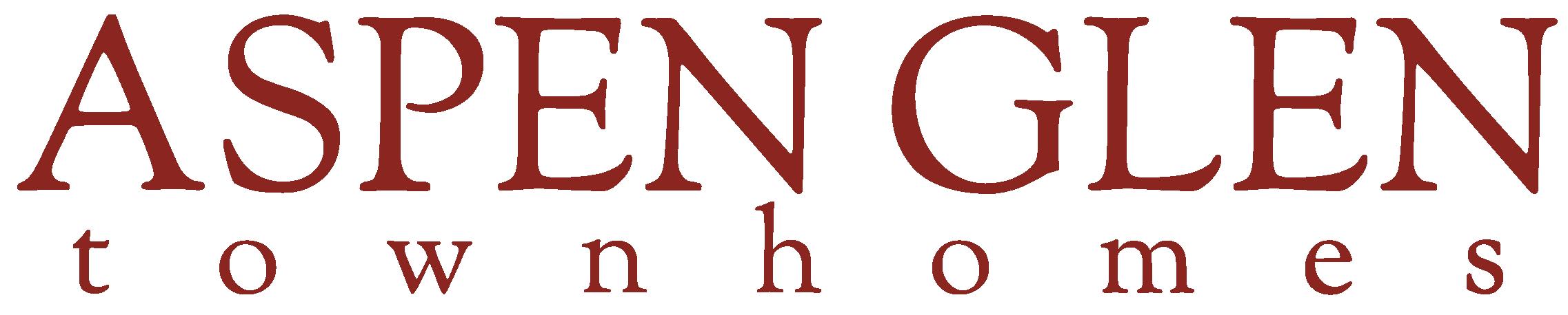 Aspen Glen Townhomes Logo