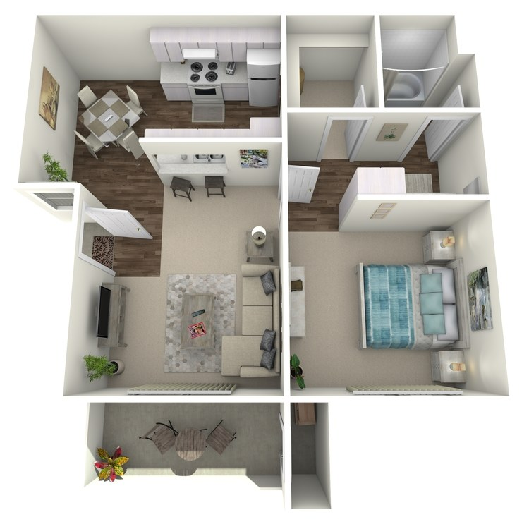 Floor plan image of Plan B