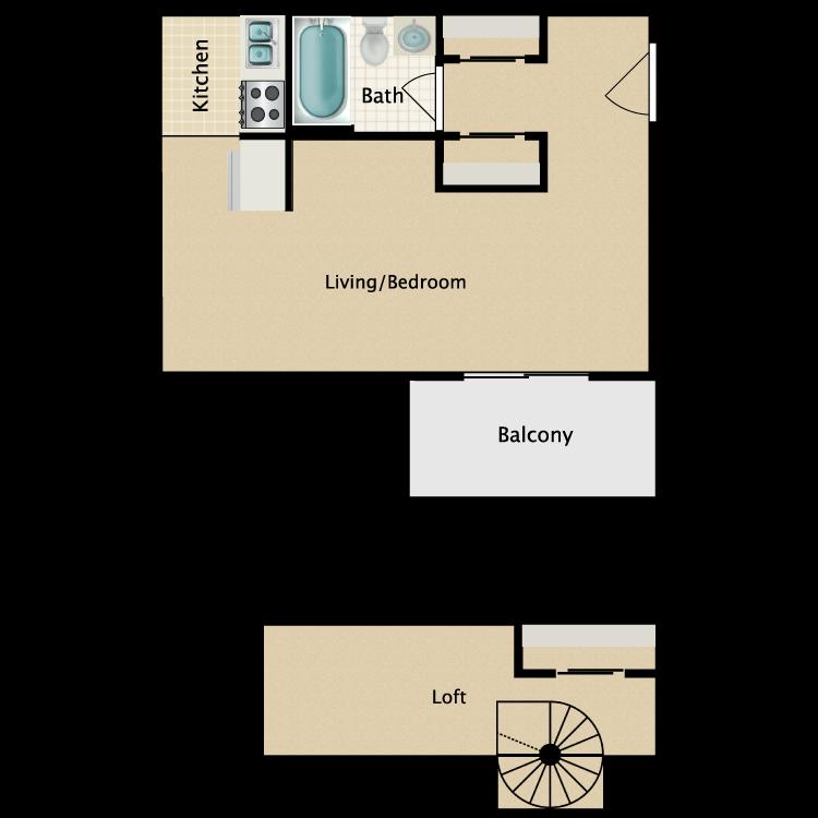 Floor plan image of Deluxe