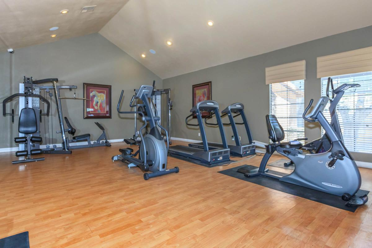 STATE-OF-THE-ART FITNESS CENTER AT CANYON CREEK VILLAS IN LAS VEGAS, NEVADA