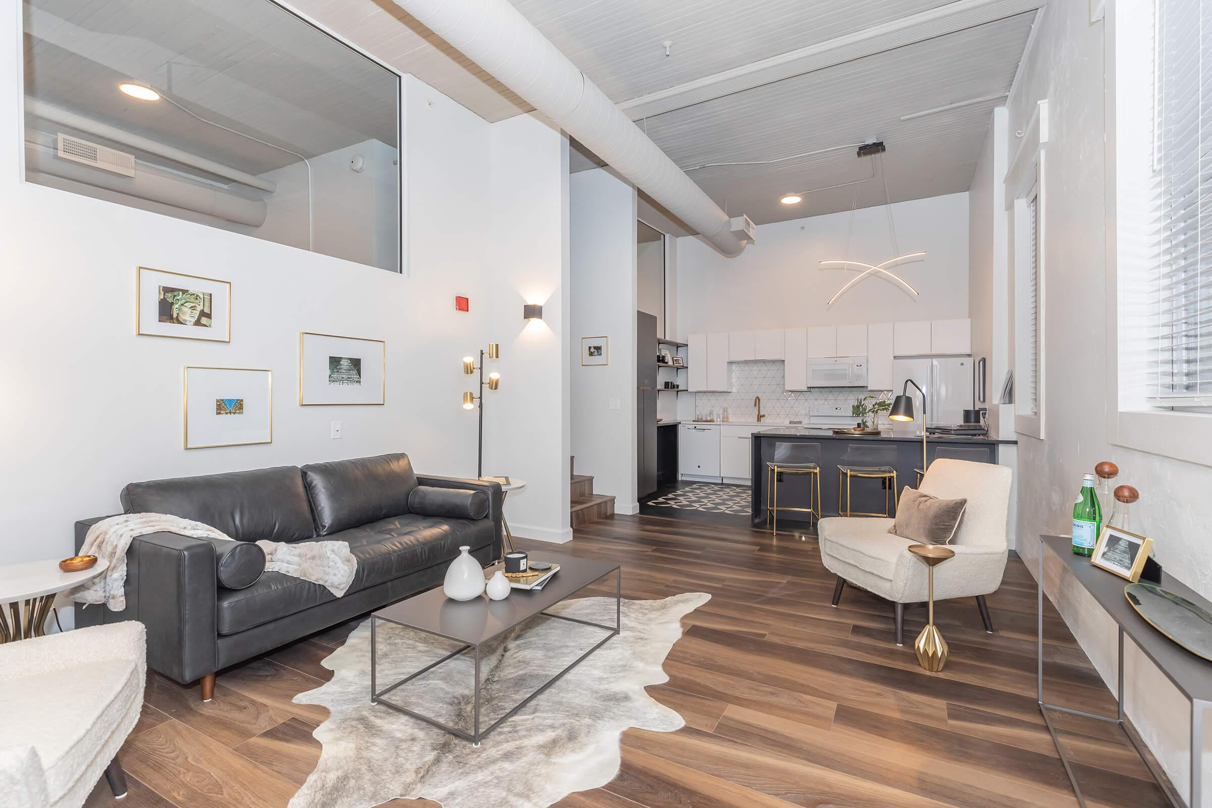 OPEN CONCEPT LIVING AT THE GRANT IN CLEVELAND, OHIO