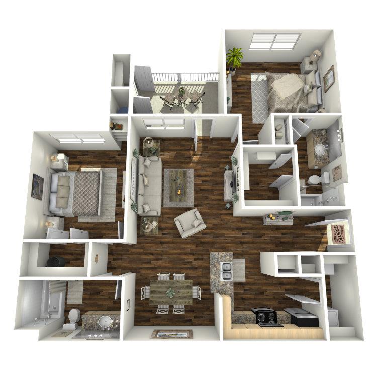 Floor plan image of Trinity