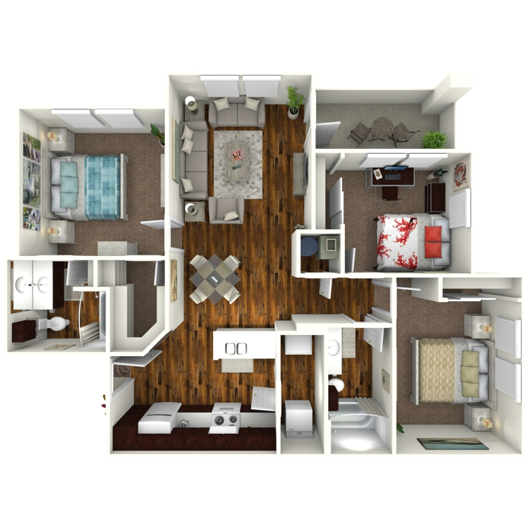 Floor plan image of Bluebonnet