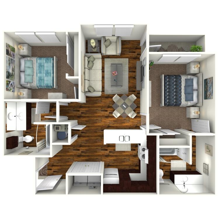 Floor plan image of El Mesquite ADA