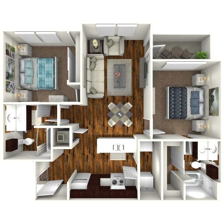 Floor plan image of El Mesquite