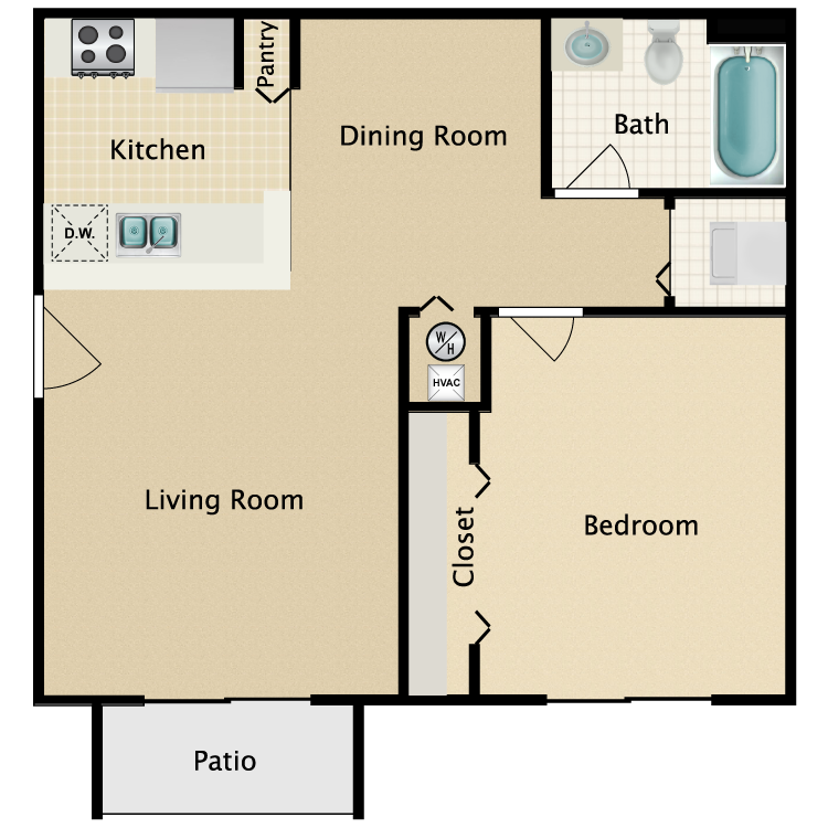 fl district riverfront apartments iocb best craigslist of one bedroom tampa info