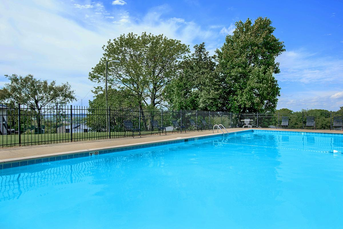 Refreshing Swimming Pool at Point Breeze Apartments