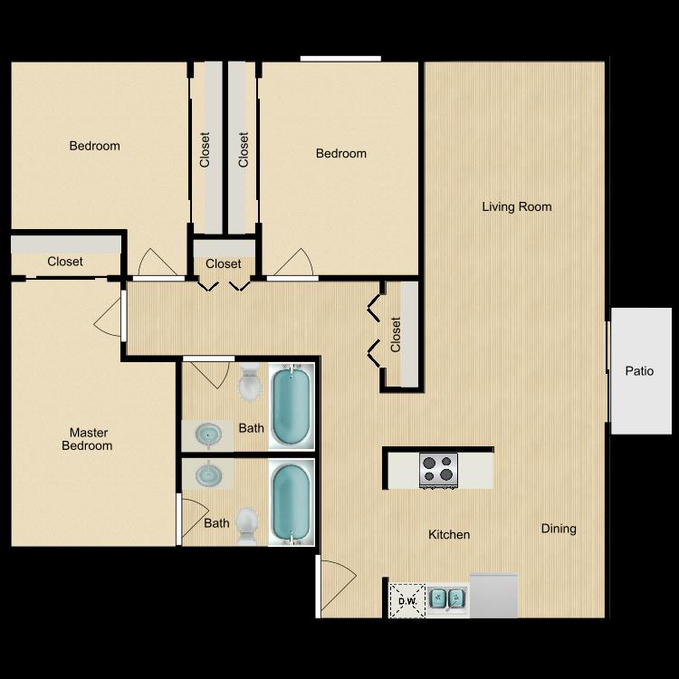 Floor plan image of The Breeze