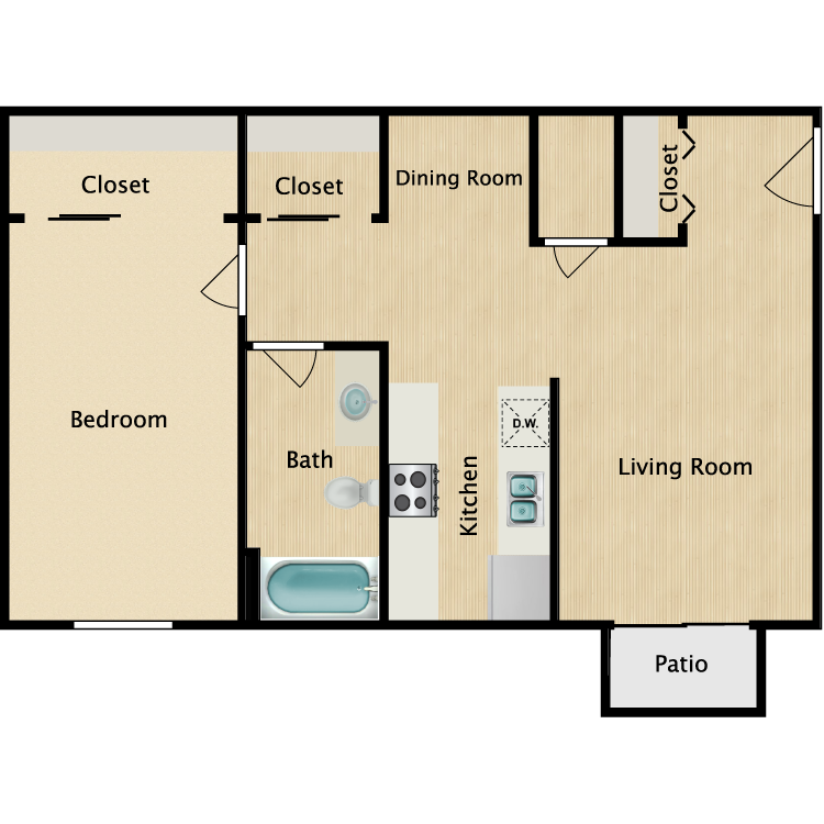 Floor plan image of The Pebbles