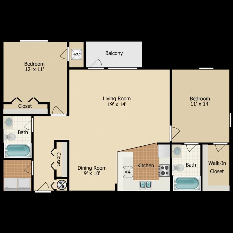 Floor plan image of Mallard