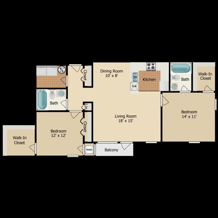 Floor plan image of Sandpiper