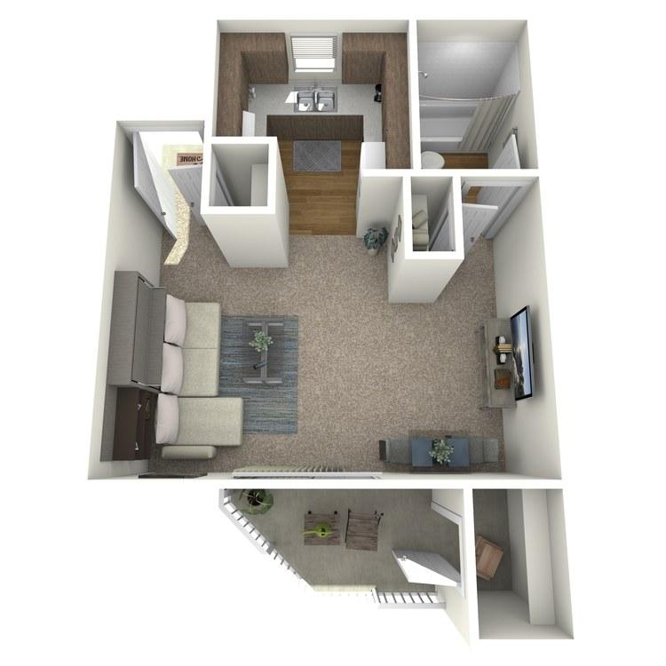 0 X 1 floor plan image