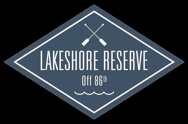 Lakeshore Reserve off 86th Logo