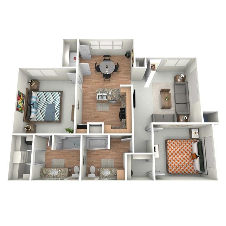 Floor plan image of Bennett