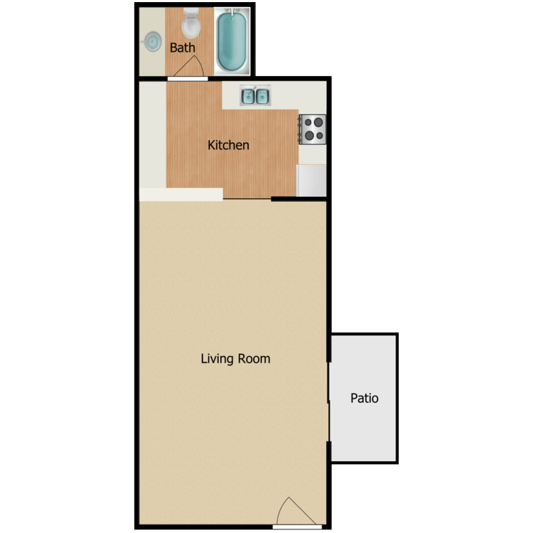 Floor plan image of The Tully