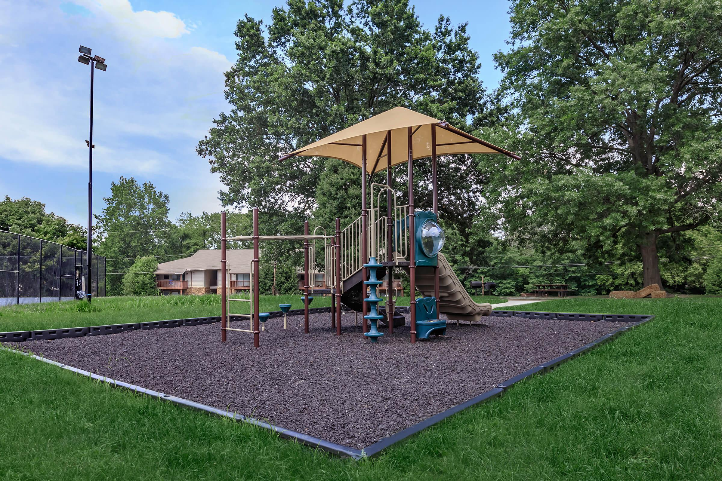 Have Fun at the Playground at Belle Forest at Memorial in Clarksville, TN