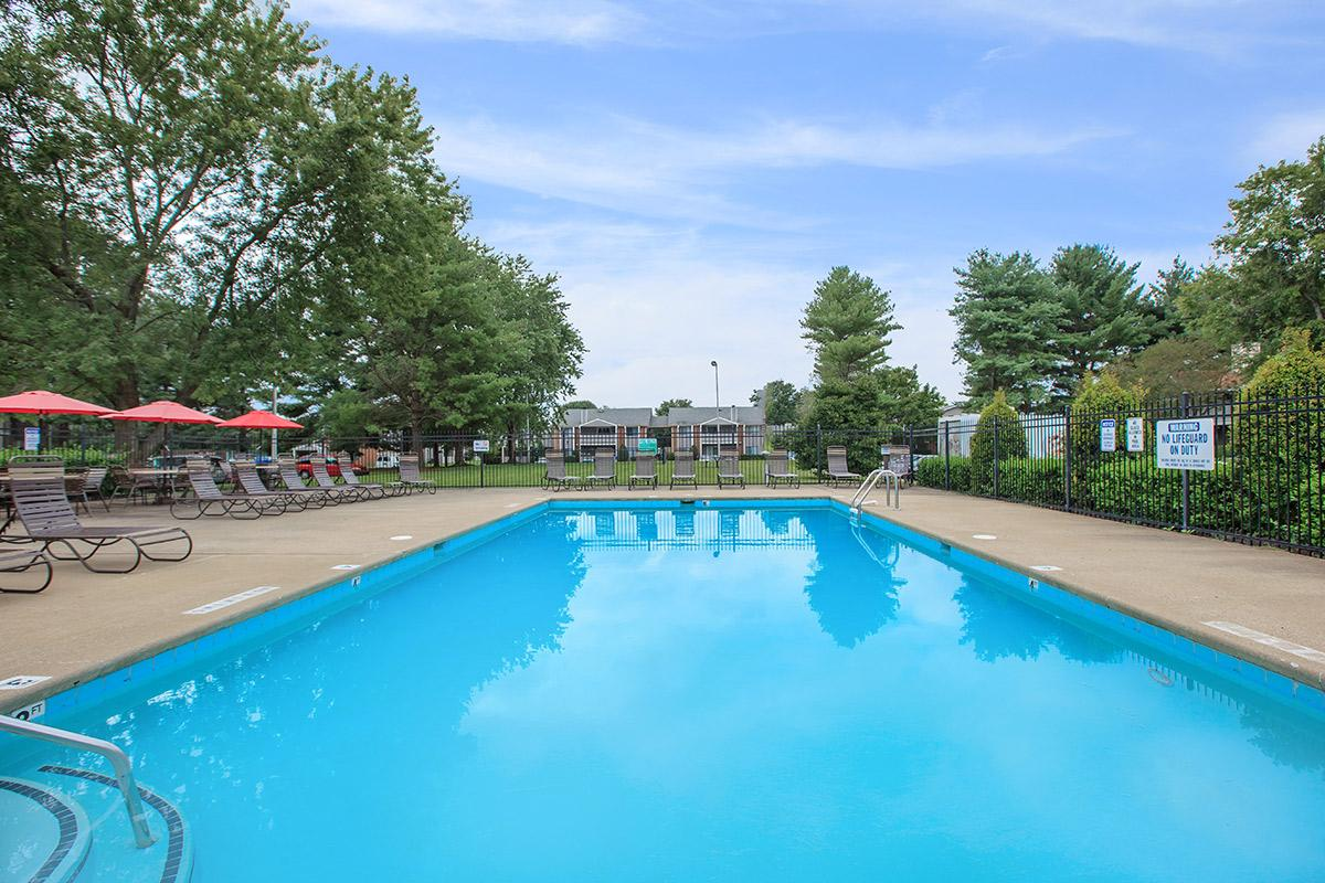 Salt Water Pool at Sussex Downs in Franklin Tennessee