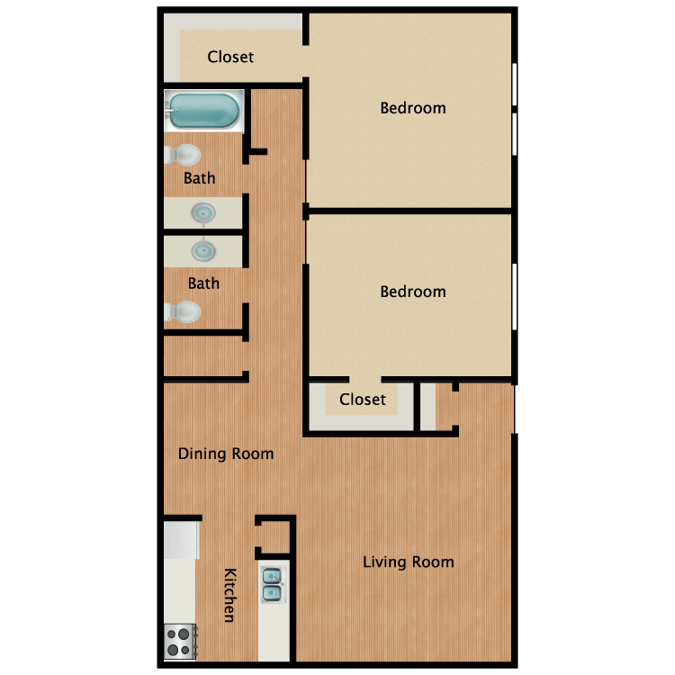 Floor plan image of The Chestnut