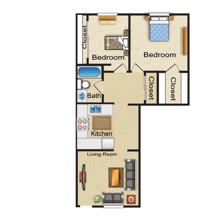 Floor plan image of Aspen