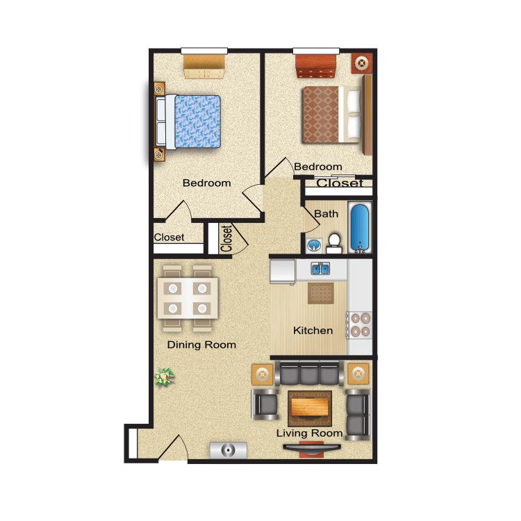 Floor plan image of Brighton