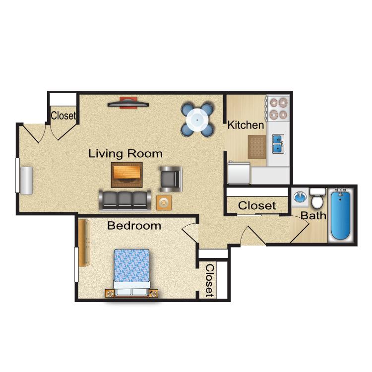 Floor plan image of Dover