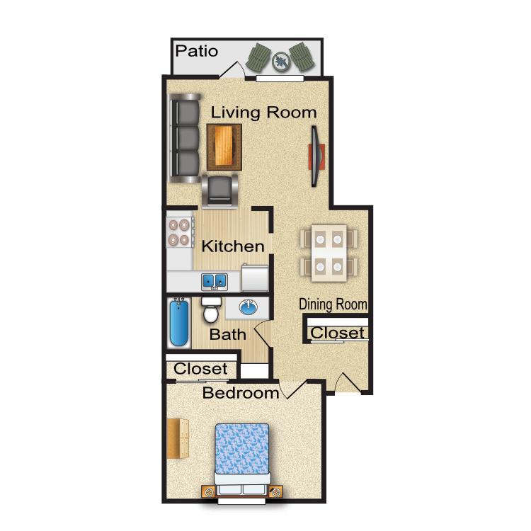 Floor plan image of Halifax