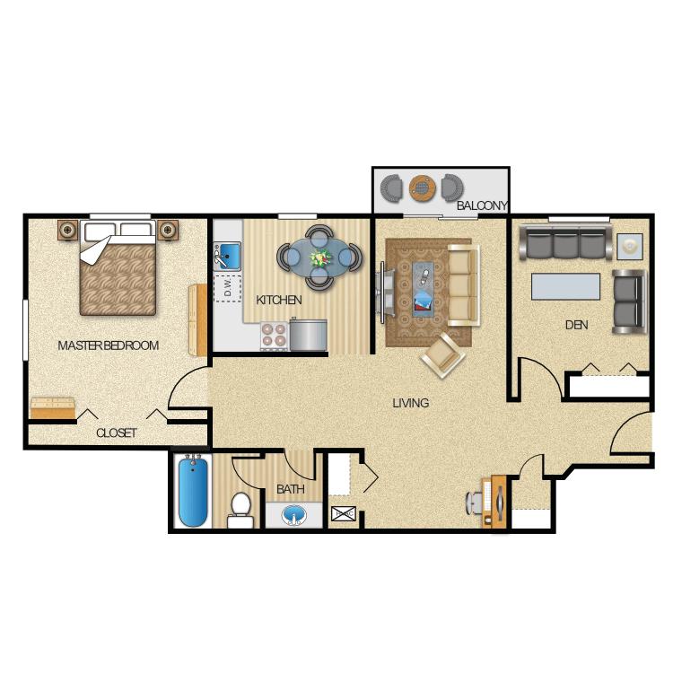Floor plan image of Northampton