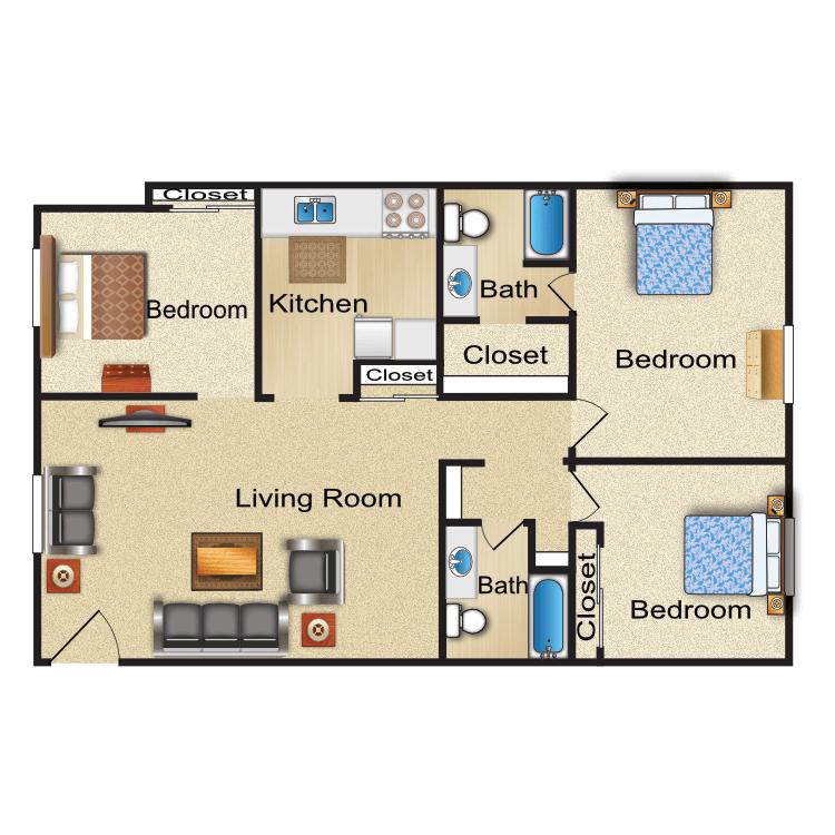 Floor plan image of Nottingham