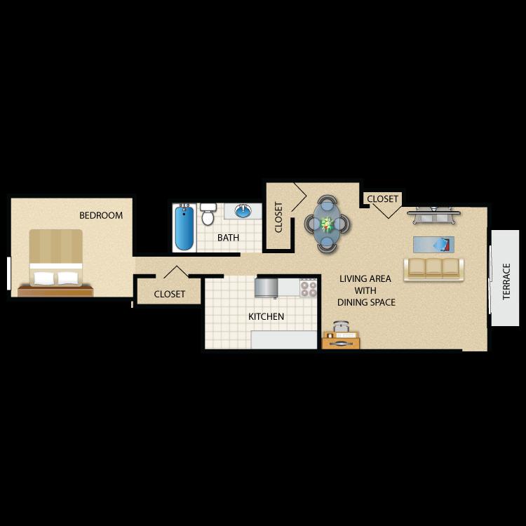 Floor plan image of Somerset