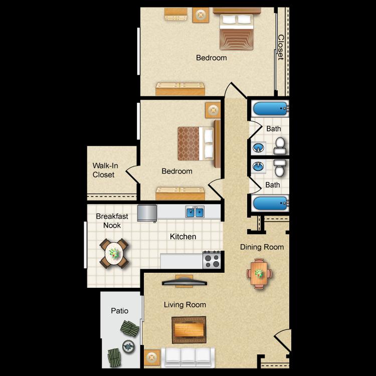 Floor plan image of Southampton