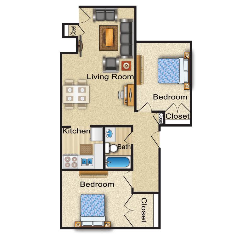 Floor plan image of Warwick