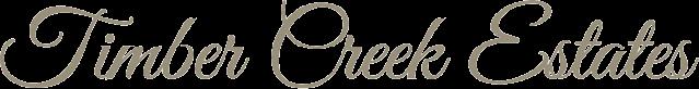 Timber Creek Estates Logo