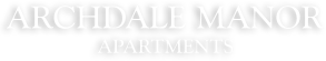 Archdale Manor Apartments Logo