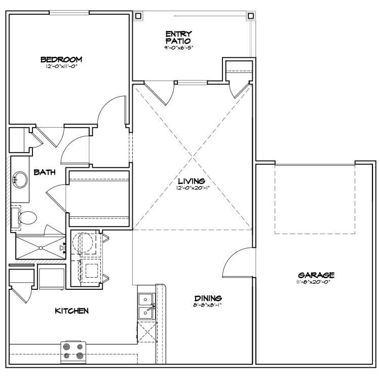 Floor plan image of A1 G
