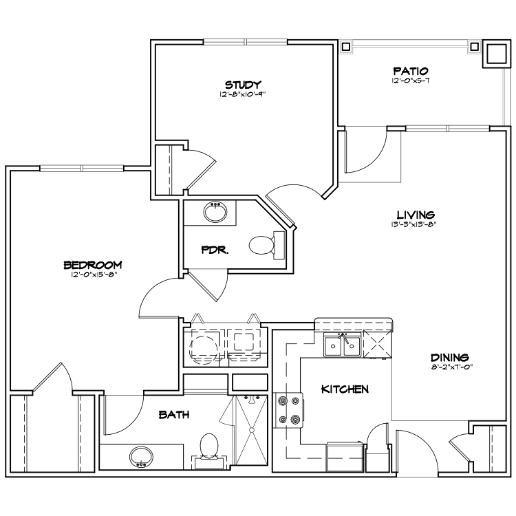 Floor plan image of TA2