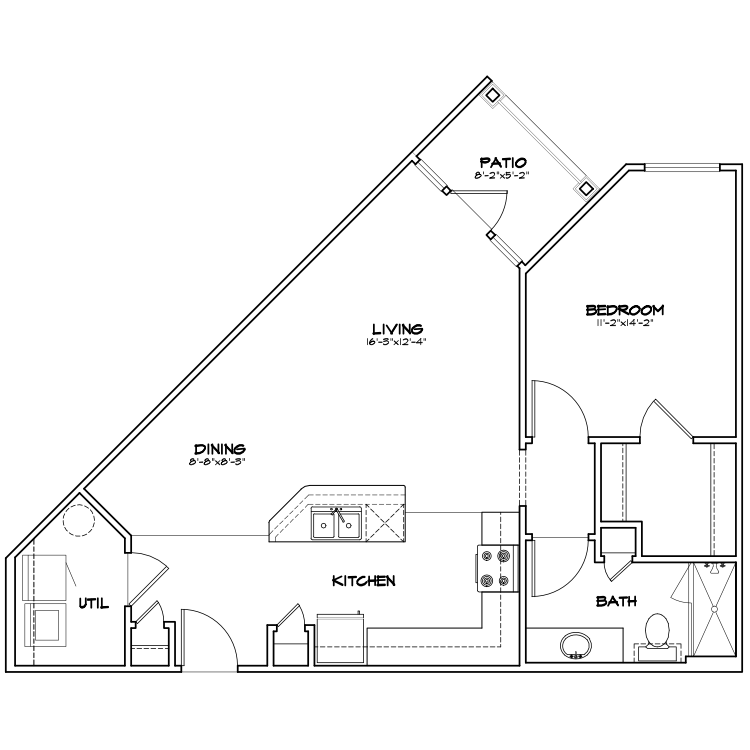 Floor plan image of TA3