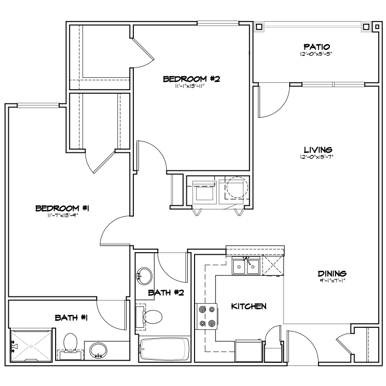 Floor plan image of TB1