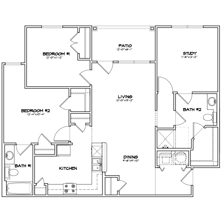 Floor plan image of TB2