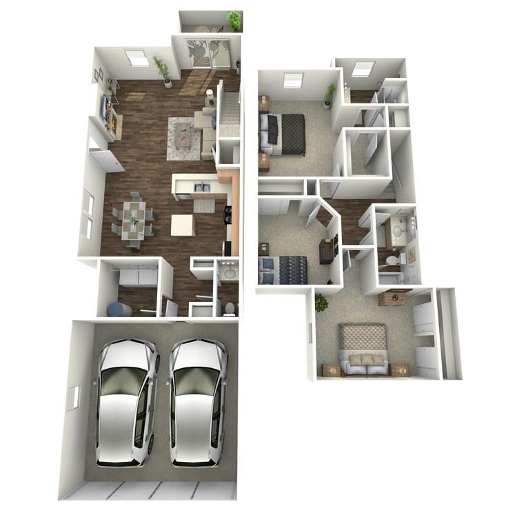 Floor plan image of C2TH