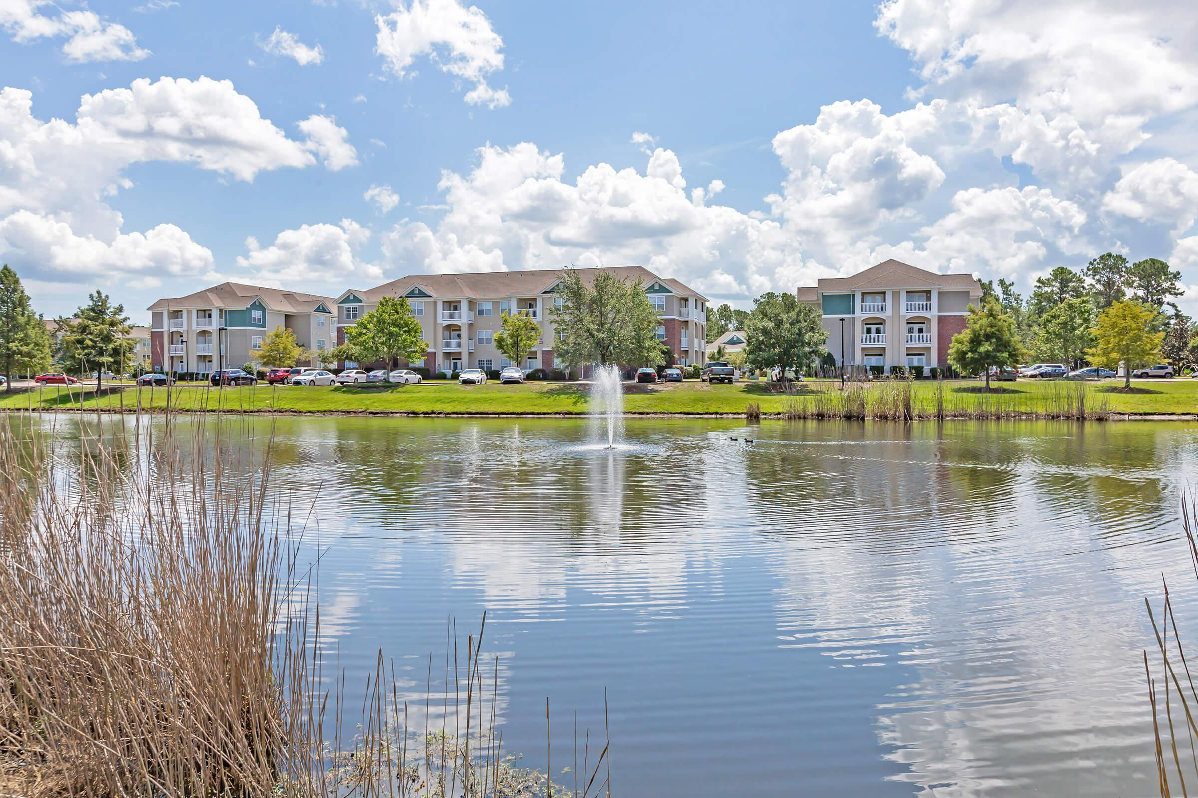 Beautiful Landscaping At New Providence Park In Wilmington, NC