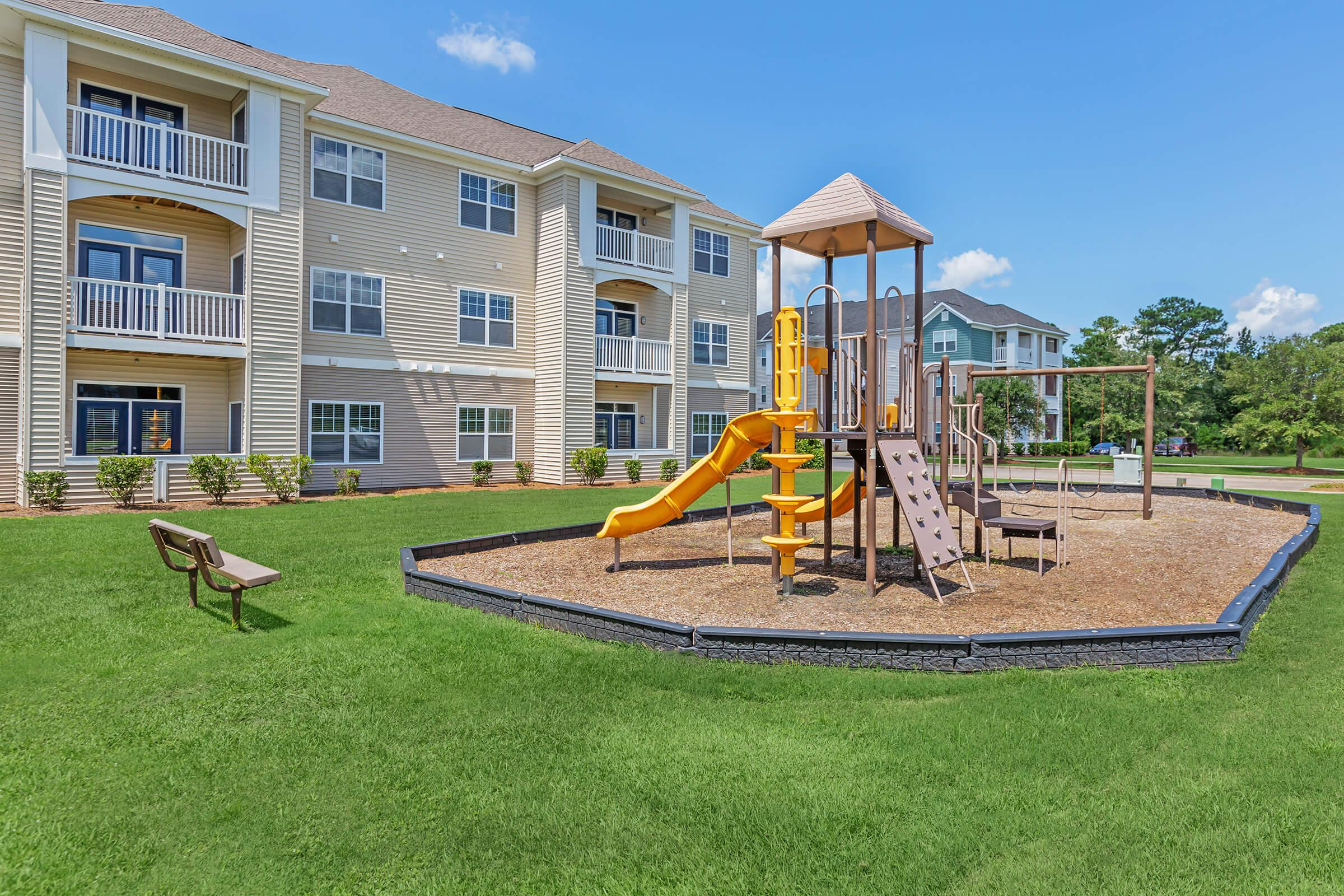 Family Fun Time At New Providence Park In Wilmington, NC